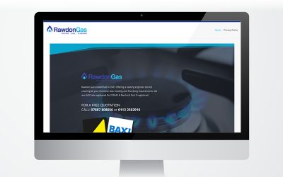Website Launch for Rawdon Gas