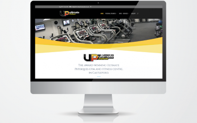 Ultimate Physiques Gym Castleford New Website Launch by Jinx Leeds website design